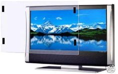 63, 64 and 65 inch TV-ProtectorTM Stylish TV Screen Protector for LCD, LED or Plasma TV by TV-Protector. $249.00. TV-ProtectorTM is a crystal clear shield with advanced optical technology that attaches to a flat-screen TV and protects the fragile screen from damage. Stop warring and start enjoying your TV! Highest quality optical-grade acrylic plastic is as clear as glass and maintains the sharp and vivid picture of any HDTV. The TV screen protector is used by F...