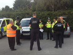 The multi-agency vehicle examination (Community MAVE) focussing on road safety and reducing petrol thefts; took place on the Ice rink car park, Ulleries Road in Solihull on Wednesday 21st September 2016. In total there were 26 vehicles checked onto the site for multiple inspections / speeding offences and other road traffic offences