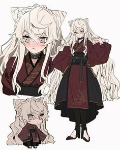 Female Character Design, Character Drawing, Character Design Inspiration, Character Concept, Anime Girl Cute, Anime Art Girl, Arte Copic, Bakugou Manga, Drawing Anime Clothes
