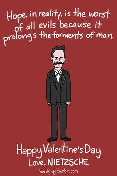 Ben Kling's Nietzsche Valentine