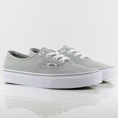 Vans Authentic Shimmer Silver