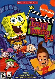 Nickelodeon Toon Twister 3-D CD-ROM