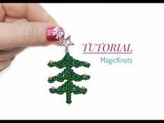 Macrame Xmas Tree ♥DIY♥ - YouTube