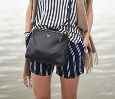 Stripes on stripes - 9 to 5 chic