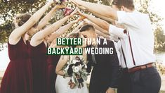 Why you should book a wedding venue instead of hosting a backyard wedding. Hotel Airbnb, Wedding Vendors, Weddings, Snohomish County, Big Screen Tv, Family Photos, Couple Photos, Bliss, Wedding Planning