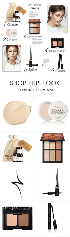 """""""Untitled #1514"""" by wendyfer on Polyvore featuring beauty, Fresh, NARS Cosmetics, By Terry, Christian Louboutin, Dolce&Gabbana, Beauty and natural"""
