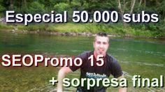 HE SUBIDO UN NUEVO VÍDEO...  Especial 50.000 subs + SEOPromo 15 (nuevo formato) + sorpresa final https://www.youtube.com/watch?v=_okbrA17JN0  Más info http://www.seoarticulo.com/2014/07/especial-50000-subs.html