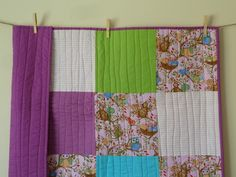 SALE Woodland purple and pink Girls cot size Quilt - by lovebea on madeit. Error Page, Cot, Pink Girl, Woodland, Quilts, Blanket, Purple, Girls, Handmade