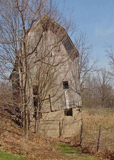 Forgotten Barn: if you're quiet, you might hear it speak to you of happier times long ago.