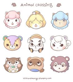 Animal Crossing stickers! Available in the store now