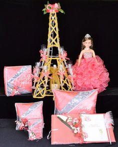 Paquete de Accesorios Mi Presentacion Torre Eiffel  #QSP132