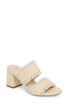 27b0c5e7106589 Free shipping and returns on Topshop Nelly Woven Slide Sandal (Women) at  Nordstrom.