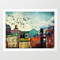 A Grand Avenue Art Print by Tim Jarosz - $17.68
