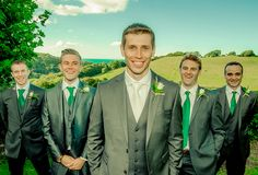 Groom and the guys!Exeter Wedding by Grant Stringer