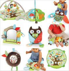 I Love the Skip Hop owl collection but Dustin says it's too much owl so I picked out my fave things for the registry!