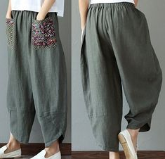Textiles, Hipster Fashion, Hipster Style, Boho Outfits, Ideias Fashion, Harem Pants, Women Accessories, Clothes For Women, Instagram