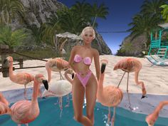 Second Life, Architecture Art, Avatar, Bikinis, Outdoor Decor, How To Wear, Beauty, Bikini, Bikini Tops