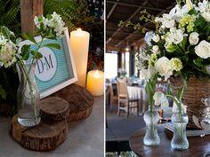 Decoração Azul + Branco | Vestida de Noiva | Blog de Casamento por Fernanda Floret