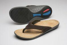 Spenco Yumi Select Mens Orthotic Sandals Dark Brown - 11 - http://www.specialdaysgift.com/spenco-yumi-select-mens-orthotic-sandals-dark-brown-11/