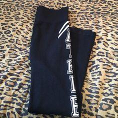 Black Leggings Black leggings. Brand new. One size fits most. Pants Leggings