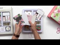 2017 Planner Collection - Websters Pages - YouTube