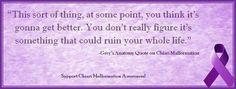 Grey's Anatomy Quote on Chiari