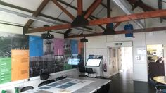 Tees Transporter Bridge Visitor Centre installation and hardware/software supply by blackbox-av. Includes projectors, touchscreens and hardhat headphones. Middlesbrough, Hardware Software, Projectors, Centre, Bridge, Headphones, Tees, Headpieces, T Shirts
