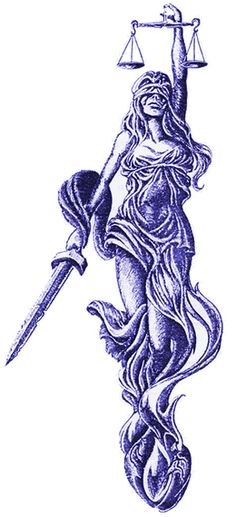 lady justice tattoo | Lady Justice for the Next Generation?
