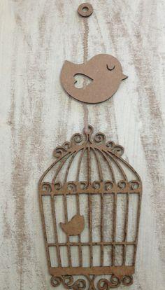 Birdcage set - Nursery Mobile