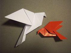 Doodle-ee-doo: Tutorial: Origami Dove