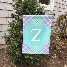 Summer Garden Flag | Preppy Garden Flag | Personalized Garden Flag ...