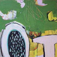 Sana Birds-green (sold) Elements Of Art, Color Inspiration, Abstract Art, Birds, Colours, Green, Artwork, Minimalist Art, Beautiful