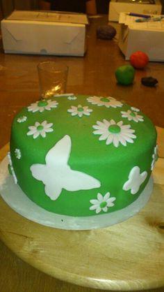Lente taart; spring cake