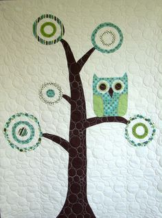 owlie tree quilt