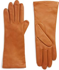 1df343c37 Halogen(R) x Atlantic-Pacific Cashmere Lined Leather Gloves. Add a refined