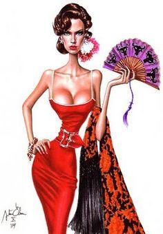 ilustrações de moda - Pesquisa Google