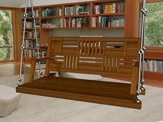 Stylish Wooden Swings or Jhula Manufacturer in India Indian Home Interior, Indian Home Decor, Home Swing, Wood Chair Design, Dressing Table Design, Indoor Swing, Swing Design, Sofa Set Designs, Wooden Swings