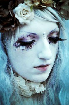 Gothic Minori Shironuri Harajuku Wgt Pastelgoth Fasion Alternative Makeup Hime Lolita Vintage Fantasy Fairy Model: Angel Morningstar Foto: Reikon