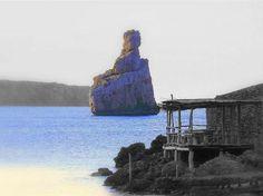 Benirras beach, close to PyB ibiza holidays