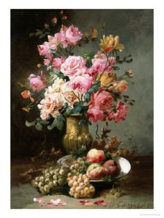 The Flowers and Fruits of Summer Giclee Print by Alfred Godchaux at AllPosters.com
