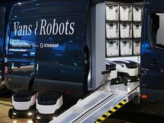Mercedes and Starship Technologies collaborate on cargo delivery bots
