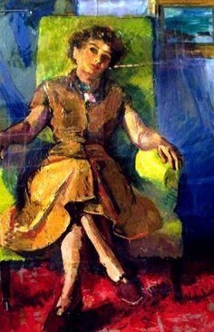 Alexandru Ciucurencu - Portretul doamnei Călinescu