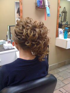 off the side updo