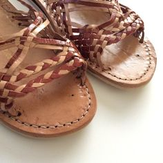 8748281b1dd5 Authentic Mexican Leather Huaraches sandals Authentic Sandals made in Mexico.  Leather. Synthetic soles.
