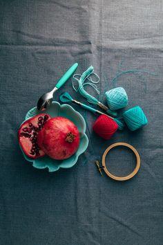 Blog | Karen Barbé | Textileria: Embroidery season!