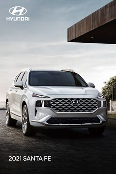 Even the choosiest of kids can't deny that the newly redesigned 2021 Hyundai SANTA FE is one head-turning SUV they won't mind being seen in. Optional features shown. New Hyundai, Hyundai Cars, My Dream Car, Dream Cars, Hyundai Vehicles, Yogurt Pie, Best Suv, Jeep Wrangler Unlimited, Find People