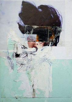 abstract portrait by macsime simon