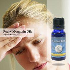 Migraine Relief - Headache relief - Migraine medicine - Headache medicine with essential oils - Rocky Mountain Oils