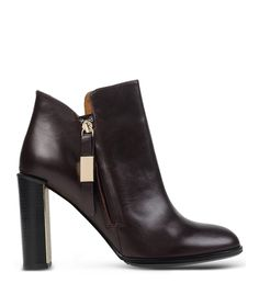 See By Chloé Metal-Heel Ankle Boot
