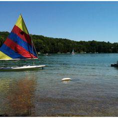 my slice of paradise. elkhart lake.